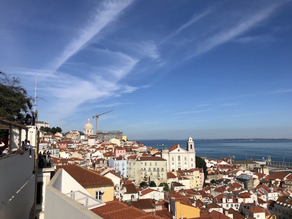 Digital nomad in Lissabon