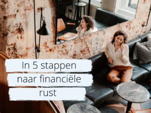 Pre-order in 5 stappen naar financiële rust